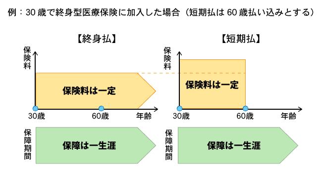 終身医療保険【保険市場】